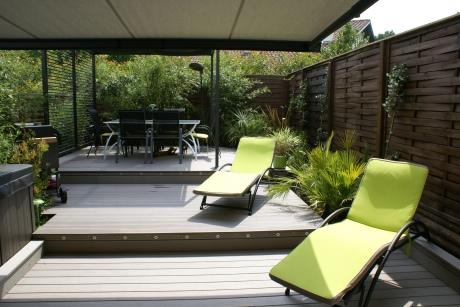 Projet anglet aritxague atelier 10 design for Amenagement jardin design
