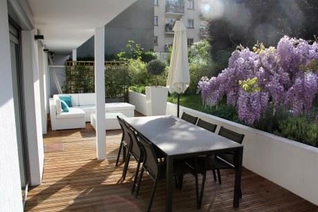 Toit Terrasse  Atelier   Design  Amnagement De Jardins